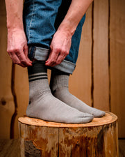 Merino Wool Crew Socks 2.0 Light Grey