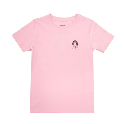 Boss Dog Kids T-shirt Hazy pink