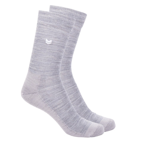 Merino Wool Kiva Socks Light Grey
