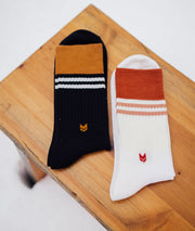 Merino Wool Crew Socks 2.0 Off White