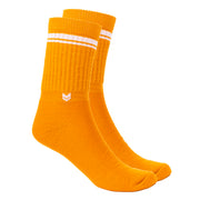 Merino Wool Crew Socks Autumn Gold