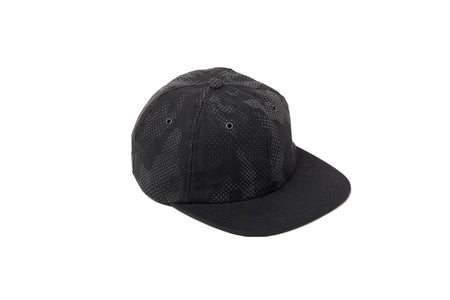 6 Panels Black Reflective Camo