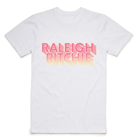 RR Logo and Astronaut/Moon T-Shirt (White)
