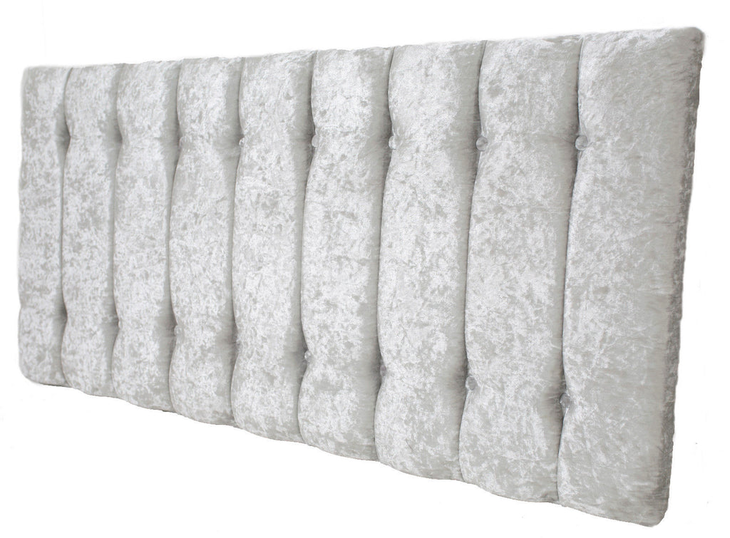 Shelly Luxury Headboard Crushed Silver