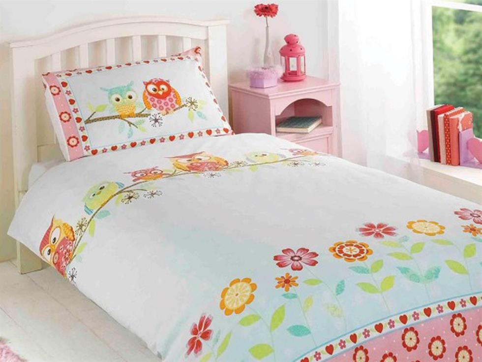 Owls Childrens Bedding set Multi