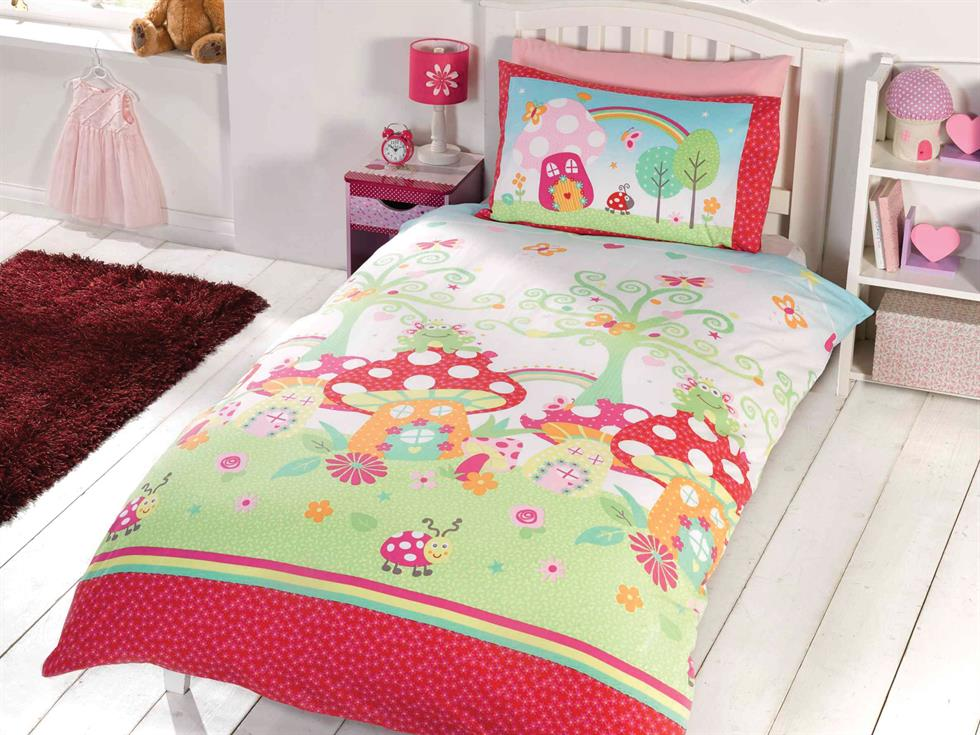 Enchanted Garden Childrens Bedding Set Multi