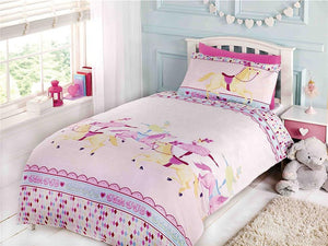 Showtime Childrens Bedding Set Pink