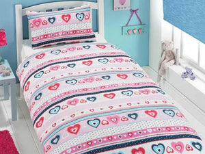 Sally Childrens Bedding Set Pink