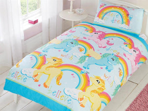 Unicorns Childrens Bedding Set Multi