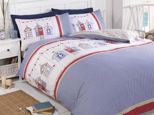 Beach Hut Bedding Set