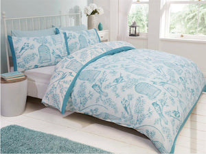 Birdcage Bedding Set Duck Egg