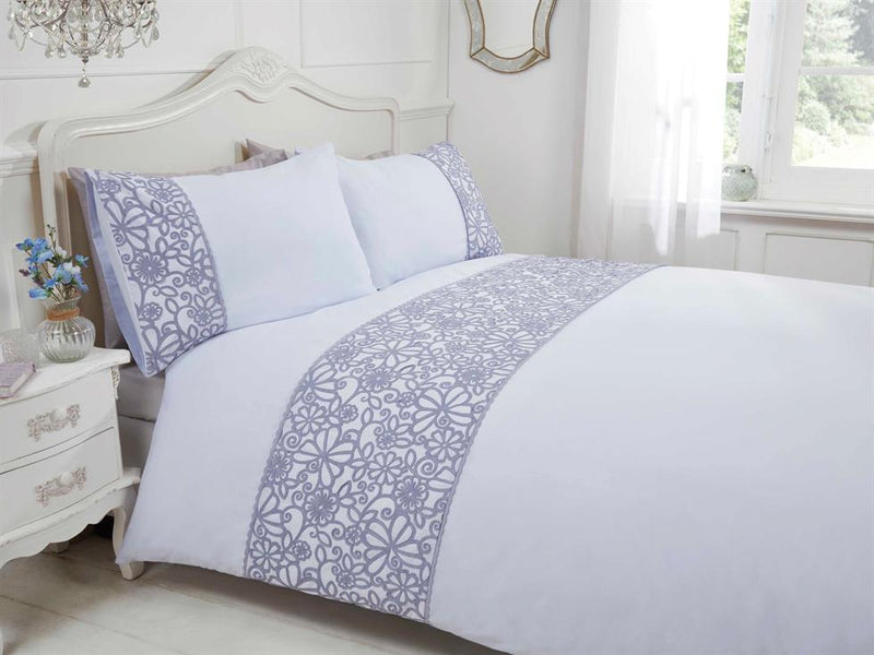 Butterfly Luxury Bedding Set Grey