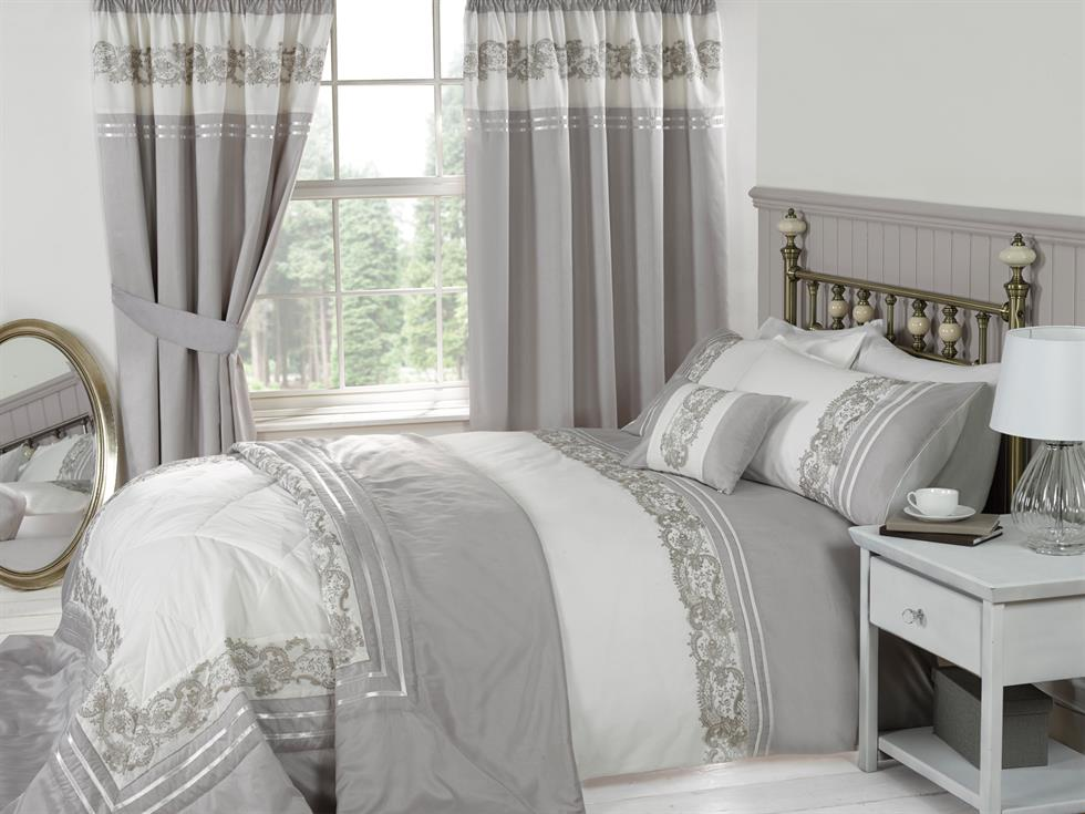 Chantilly Luxury Bedding Set Mink