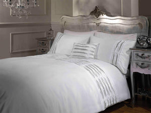 Crystal Luxury Bedding Set White