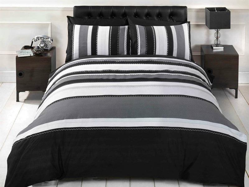 Detroit Bedding Set Grey