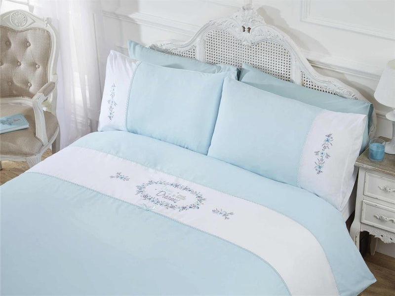 Dream A Little Dream Bedding Set Duck Egg