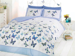 Flutter Bedding Set Blue