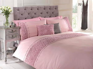 Limoges Luxury Bedding Set Pink