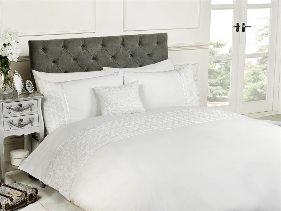 Limoges Luxury Bedding Set White