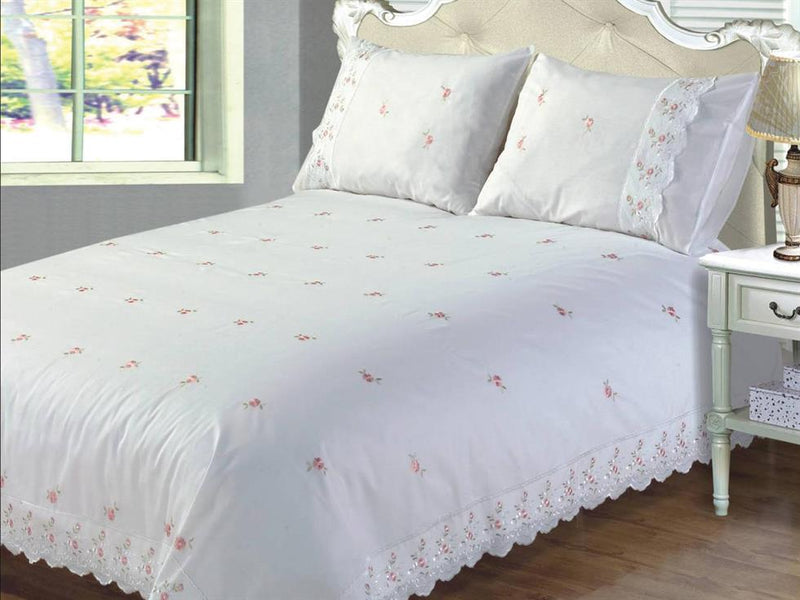 Sophie Luxury Bedding Set White