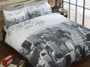 The City That Never Sleeps Bedding Set Mono
