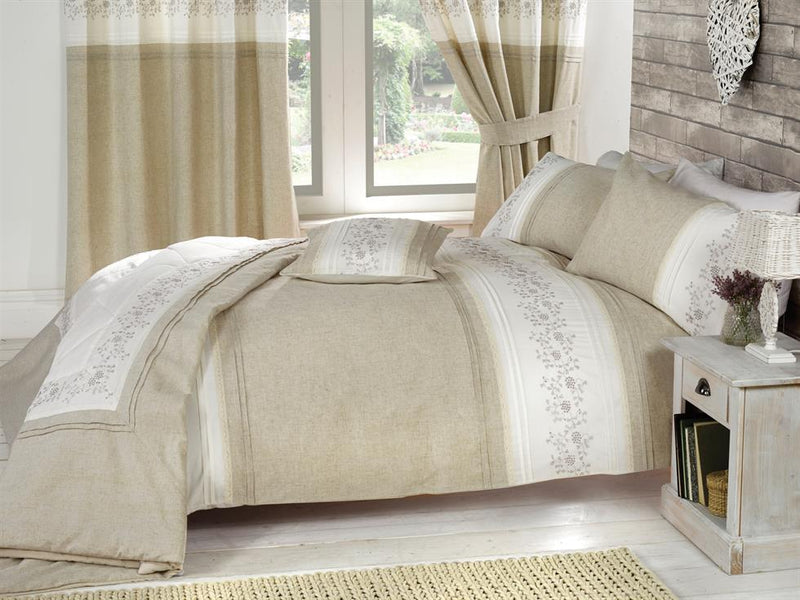 Wildberry Luxury Bedding Set Cream