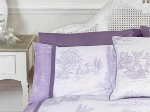 Camargue Luxury Bedding Set Lilac