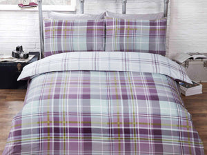 Hamilton Check Bedding Set Heath