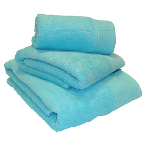 Chatsworth 100% Egyptian Cotton Bathroom Towels 600gsm Turquoise