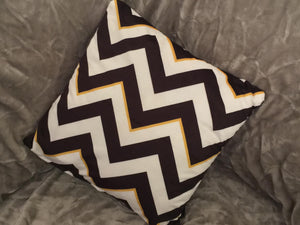 Zig Zag Home Reversible Cushion Cover Multi
