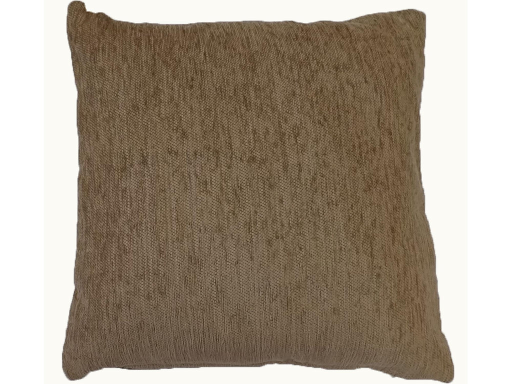 Yale Chenille Cushion Cover Mink