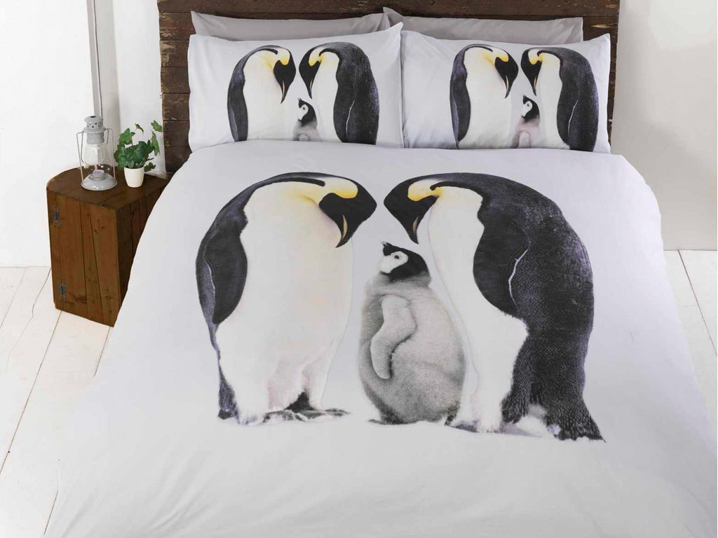 Penguin Bedding Set Multi