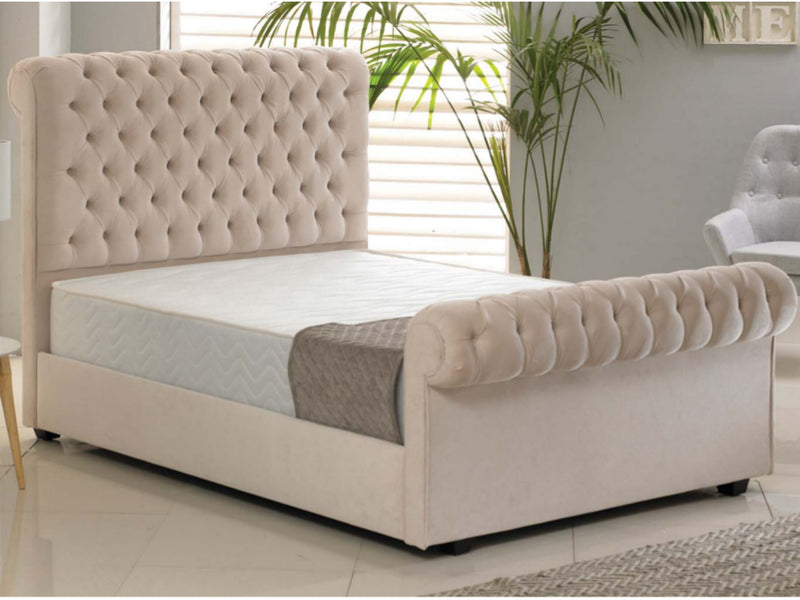 Windsor Luxury Bed Frame in Hercules Ivory