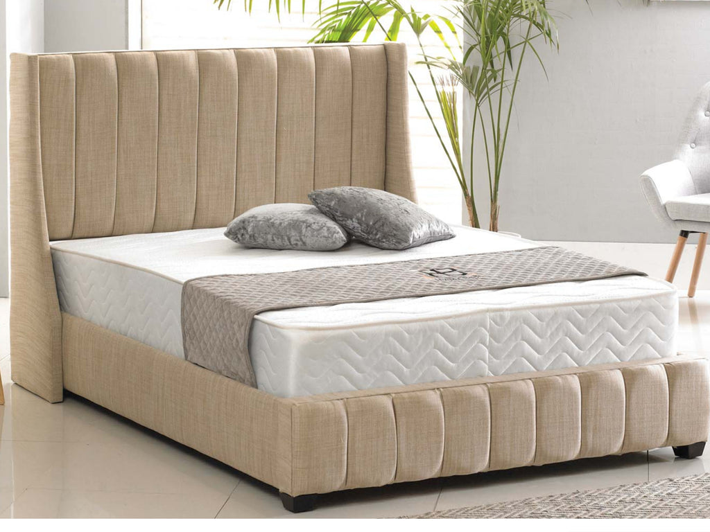 Winchester Luxury Bed Frame in Aberdeen Oatmeal – The Cosy Bedding ...
