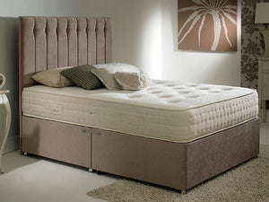 Shelly FS Bed Base in Hercules Mink