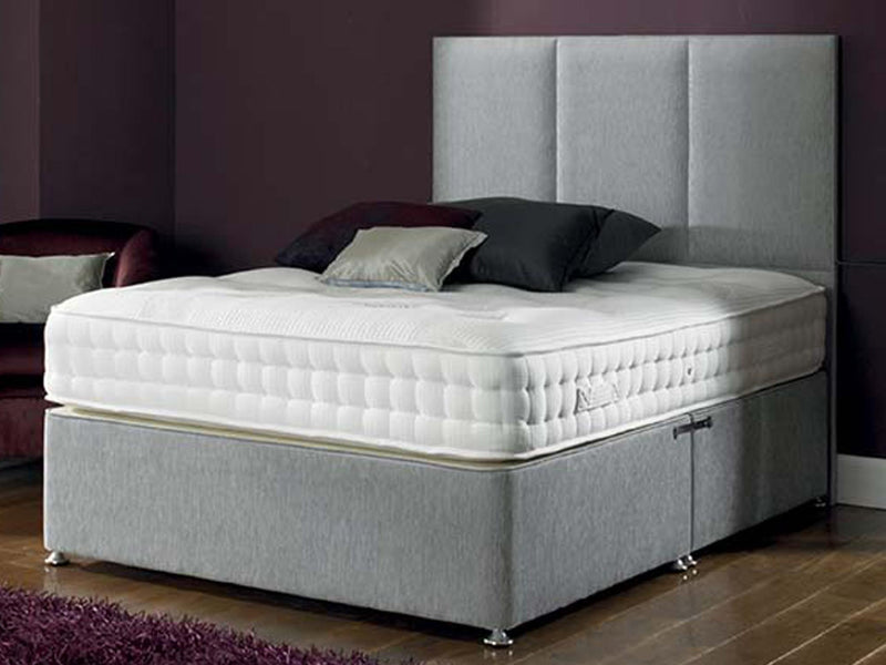 Zanda FS Bed Base in Turin Mid Grey