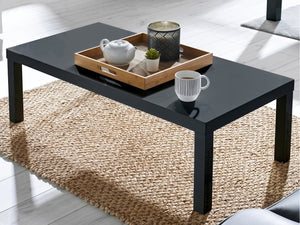 Puro Coffee Table in Charcoal