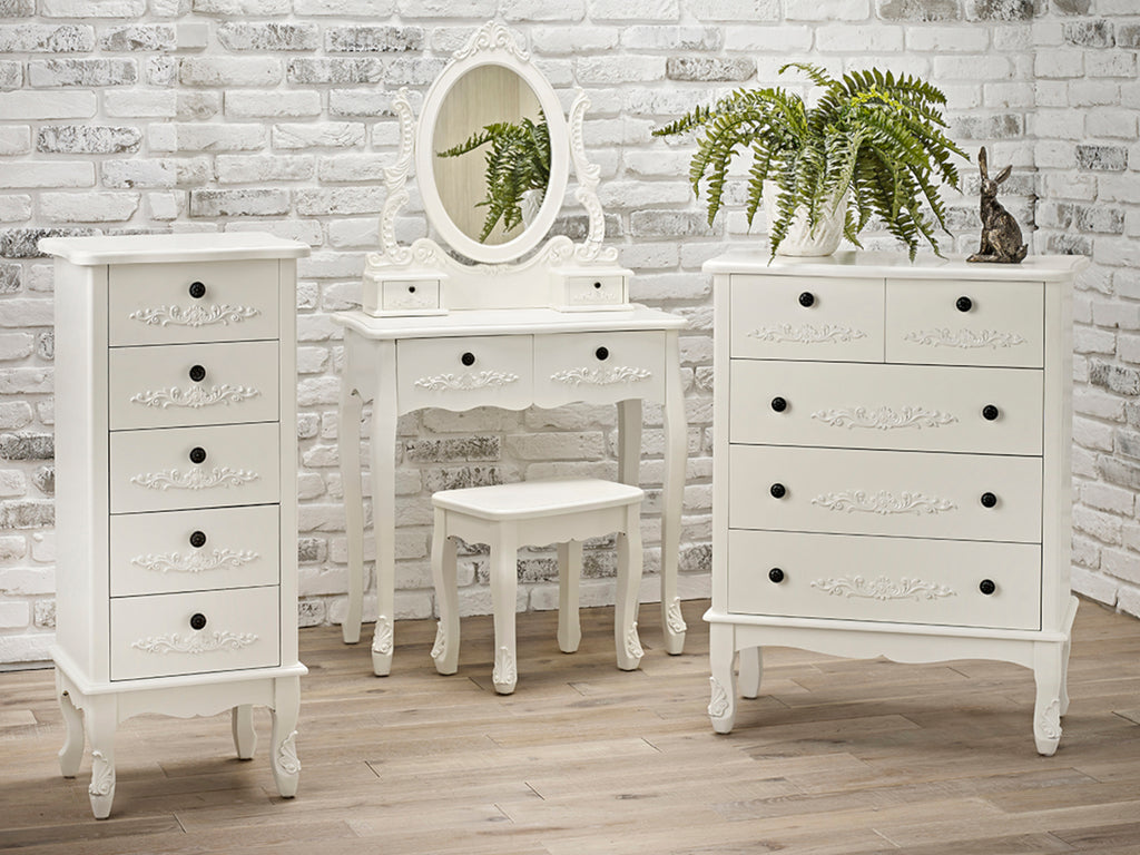 Antoinette Bedroom Furniture in White