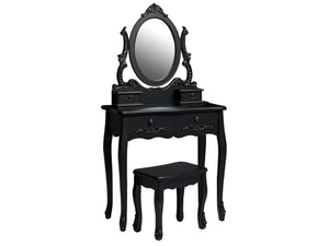 Antoinette Bedroom Furniture in Black
