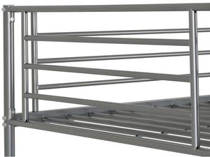 Brogan Metal Bunk Bed in Silver