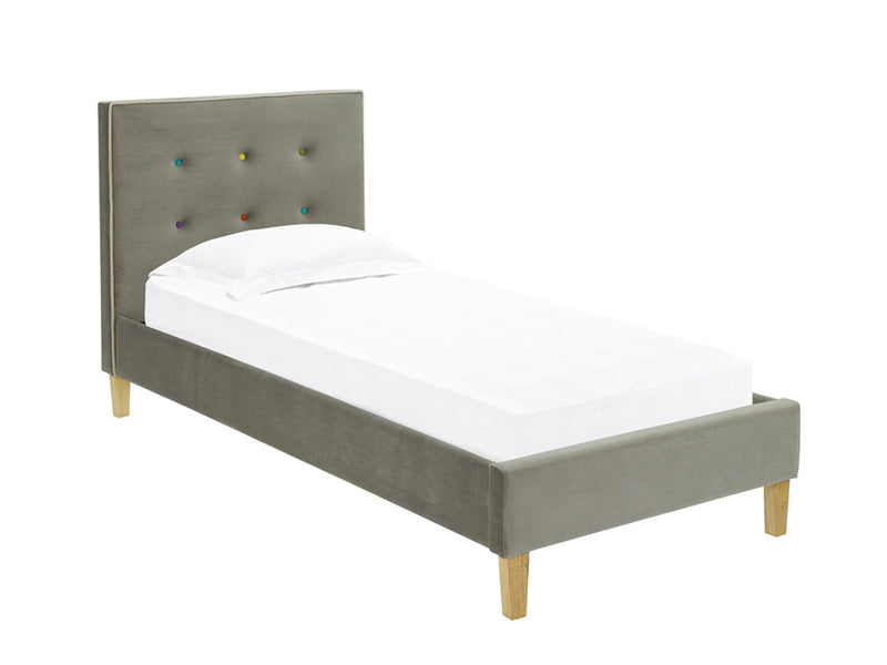 Camden Bed  Frame in Mid Grey
