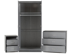 Felix Bedroom Furniture Grey