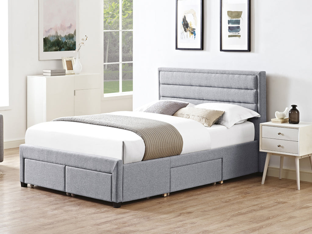 Greenwich  Bed Frame in Soft Grey