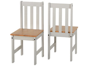 Ludlam 2 Seater Dining Set in Grey and Oak