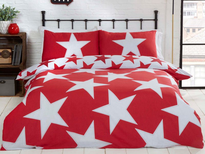All Stars Reversible Bedding Set Red