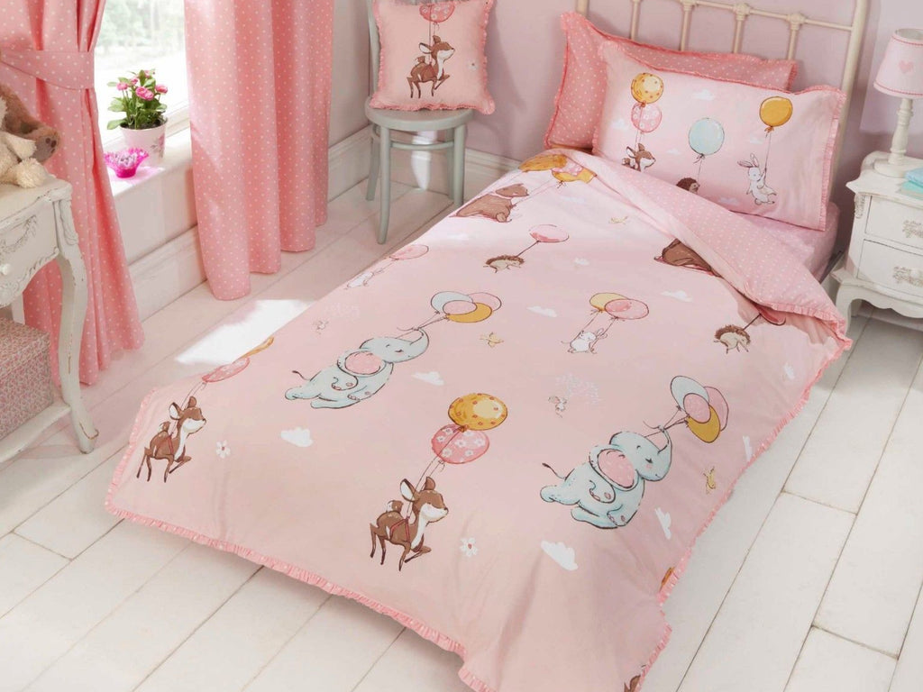Float Away Childrens Bedding Set Pink