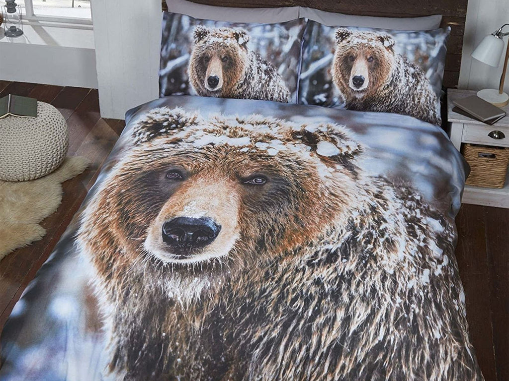 Big Bear Bedding Set Multi