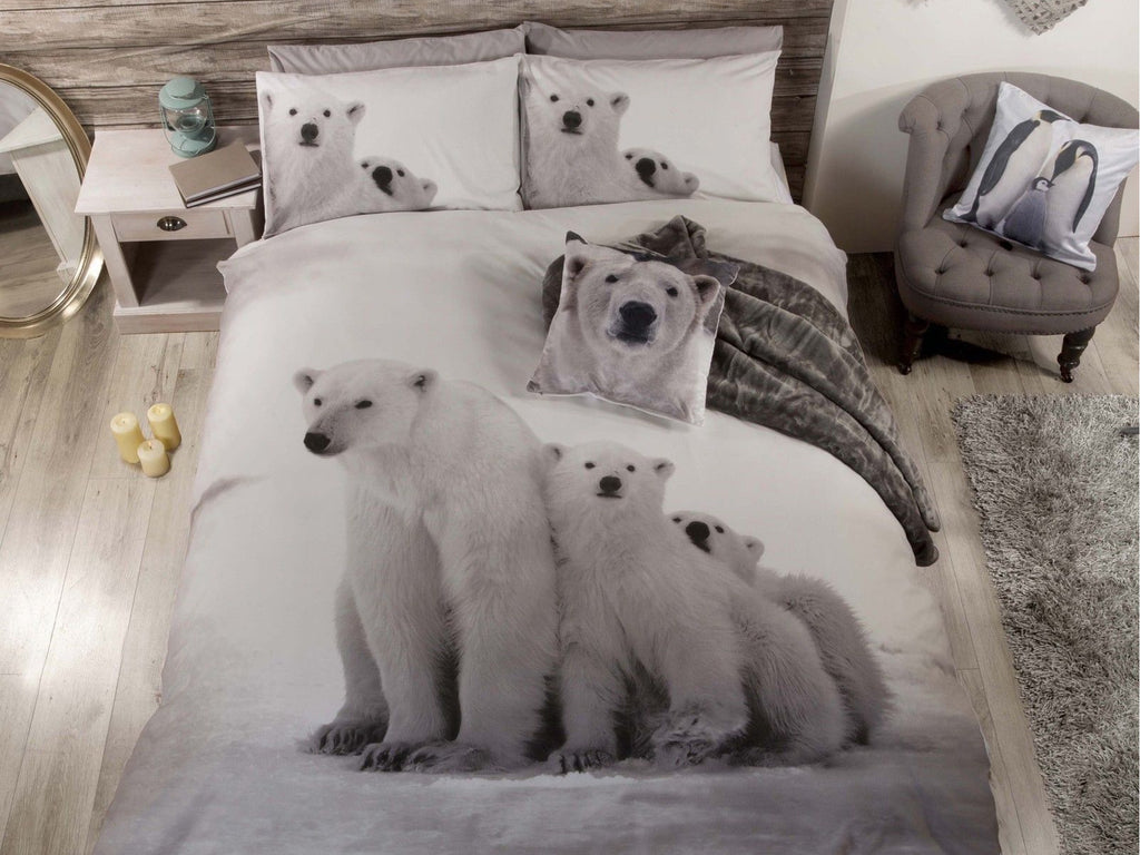 Polar Bear Bedding Set Multi