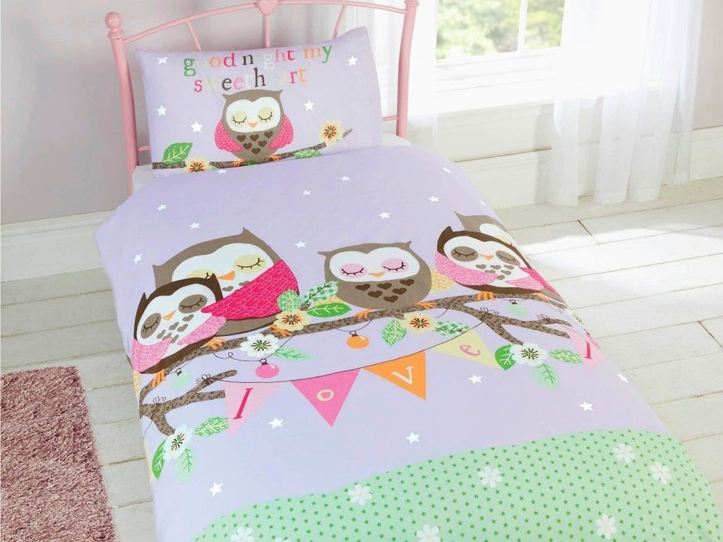 Goodnight Sweetheart Childrens Bedding Set Multi