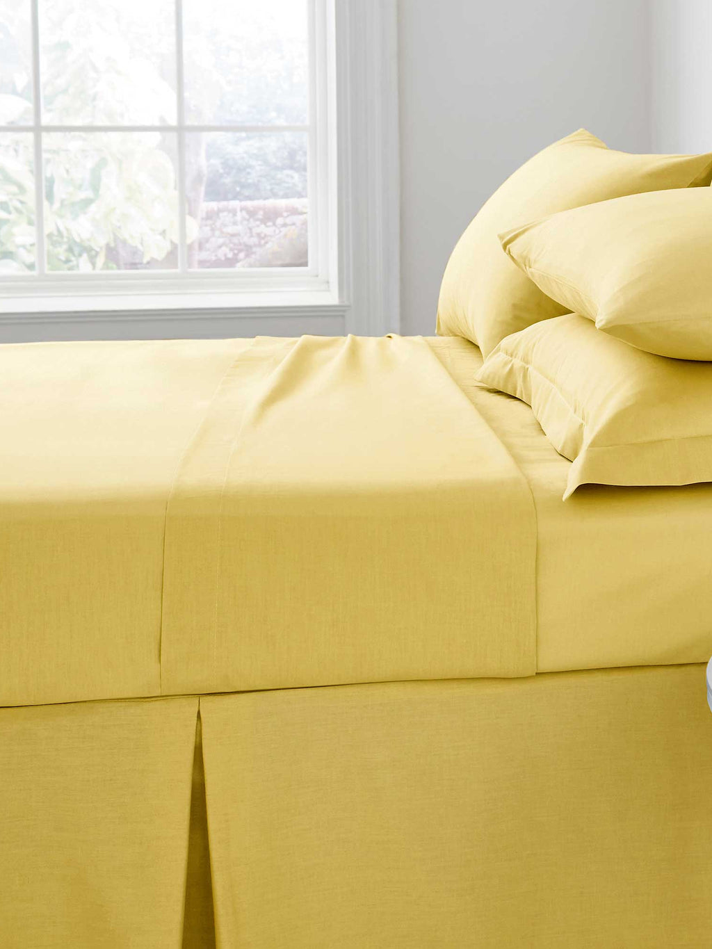 Percale Luxury Extra Deep Fitted Sheet Ochre